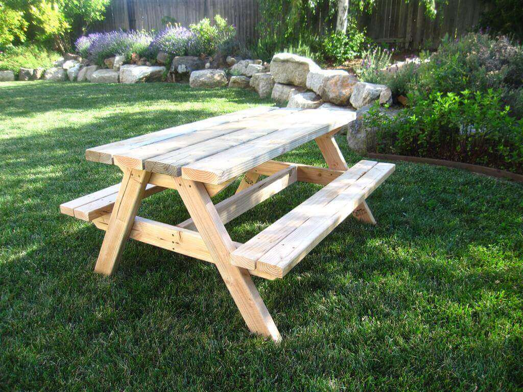Bigger Kids Picnic Table Plans