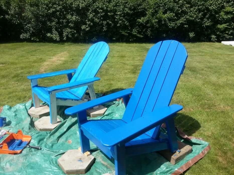 Adirondack-Style Chair