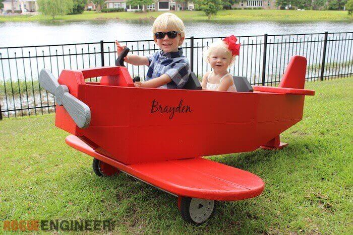 Airplane Play Structure