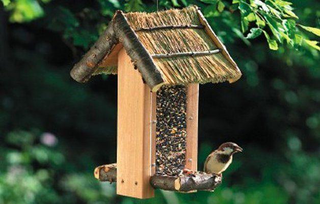 Cozy Cabin DIY Bird Feeder