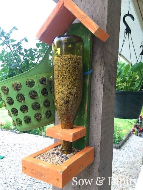 DIY Bird Feeder | Sow And Dipity