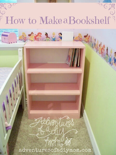 DIY Build A Bookshelf