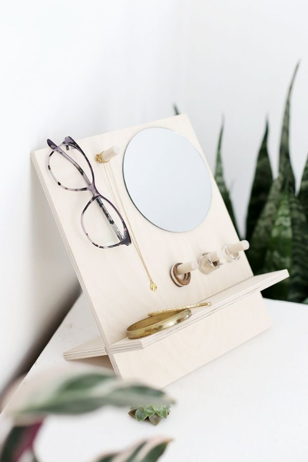 DIY Glasses And Jewelry Organizer