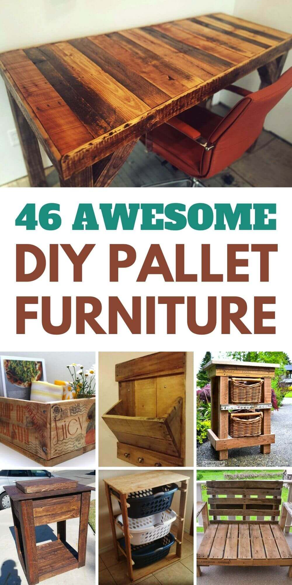 46 Awesome DIY Pallet Furniture Ideas