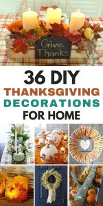 DIY Thanksgiving Decorations For Home