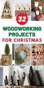 DIY Woodworking Projects For Christmas