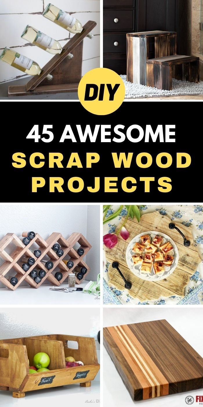 45 Awesome Scrap Wood Projects You Can Make