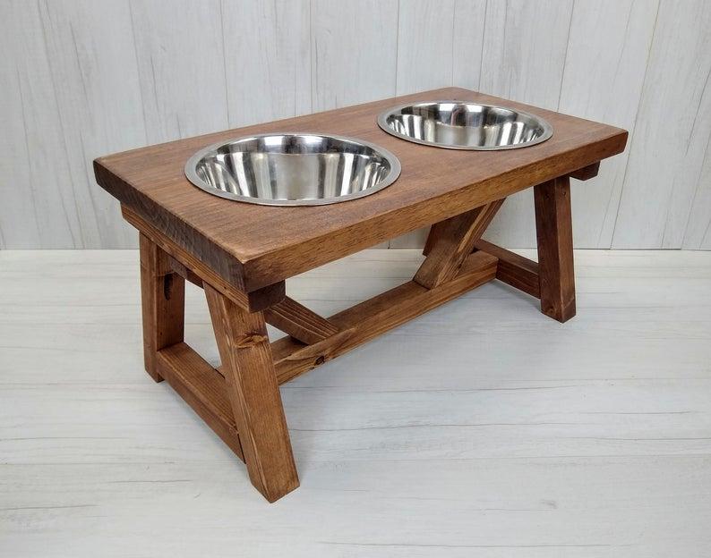 Dog Bowl Stand