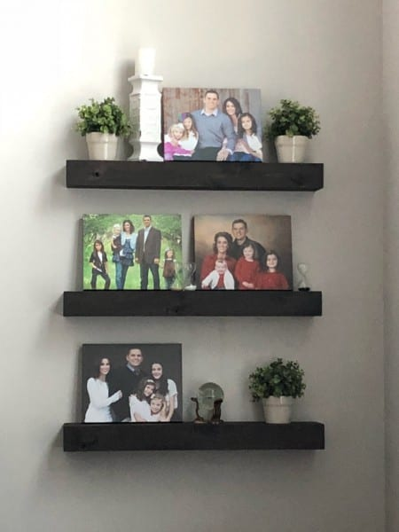 Affordable Floating Shelves
