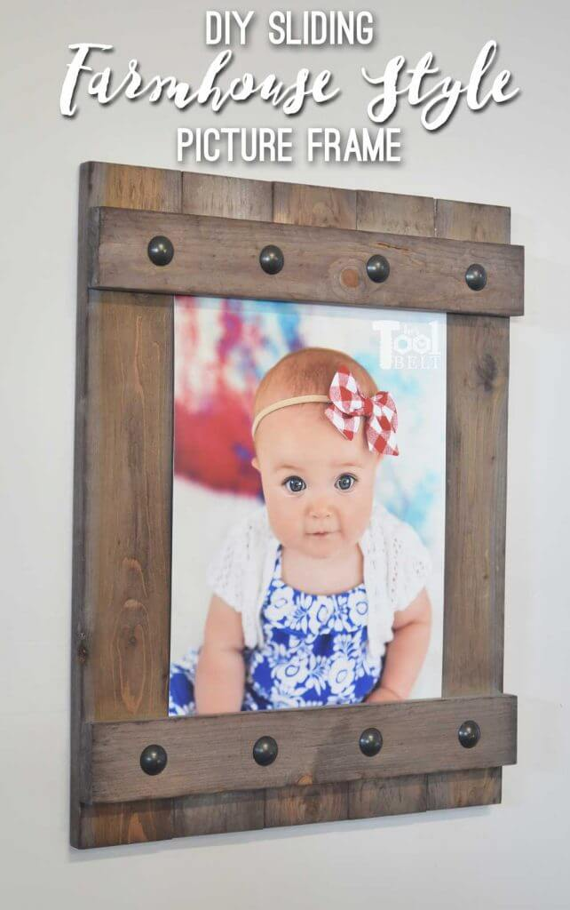 Easy Farmhouse Style Frame