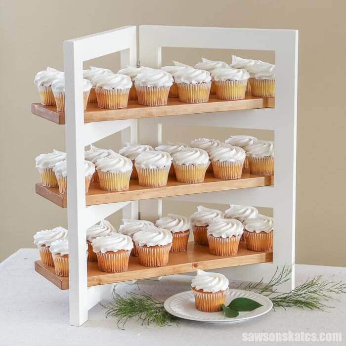 Folding Cupcake Stand