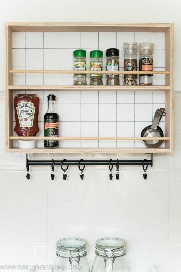 Hanging Spice Rack