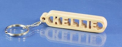 Personalized Keychain Holder