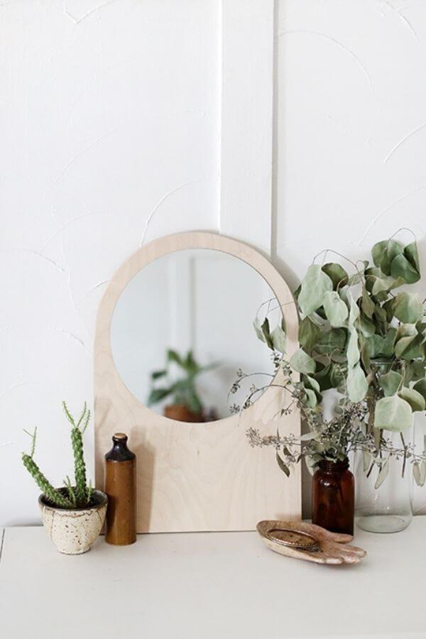 Plywood Arch Mirror