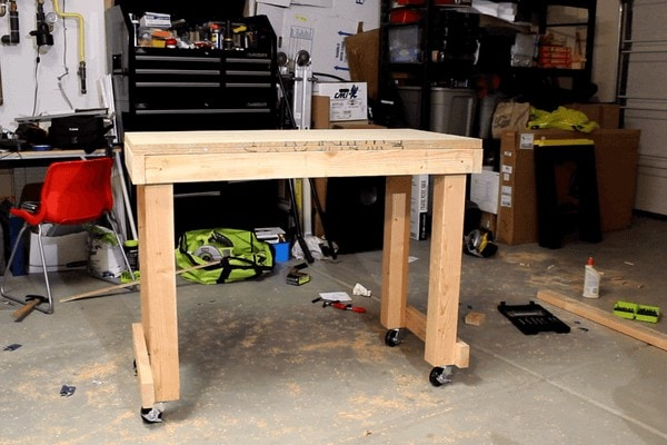 Roll-Around Workbench (No Shelf)