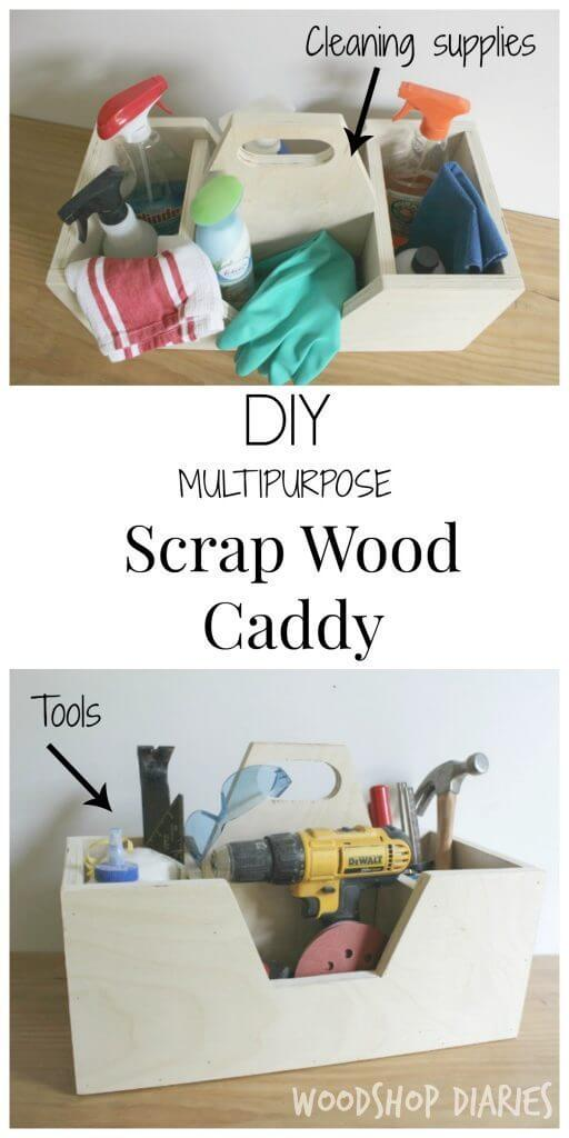 Scrap Wood Caddy