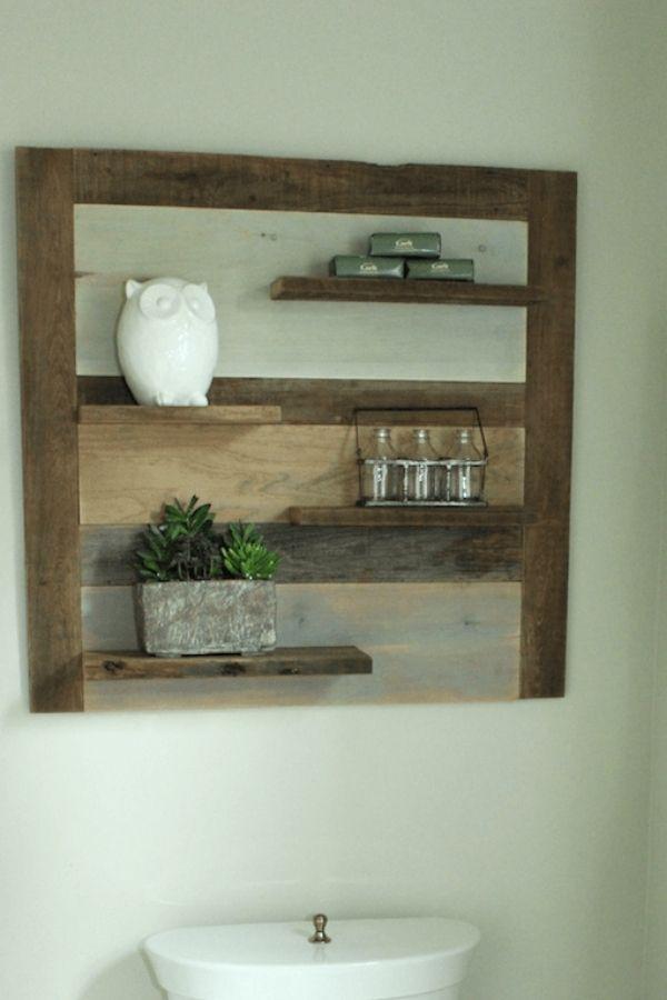 DIY Scrap Wood Shelf