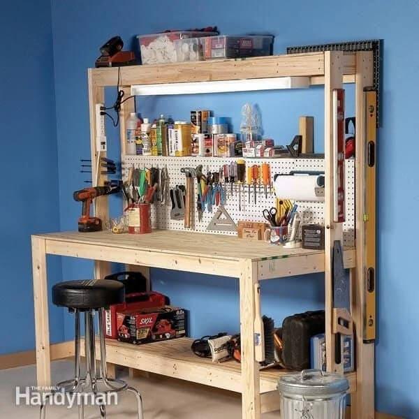 Simple $50 Workbench