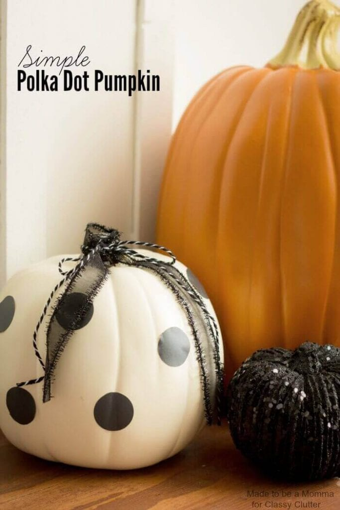 Simple Polka Dots Pumpkins