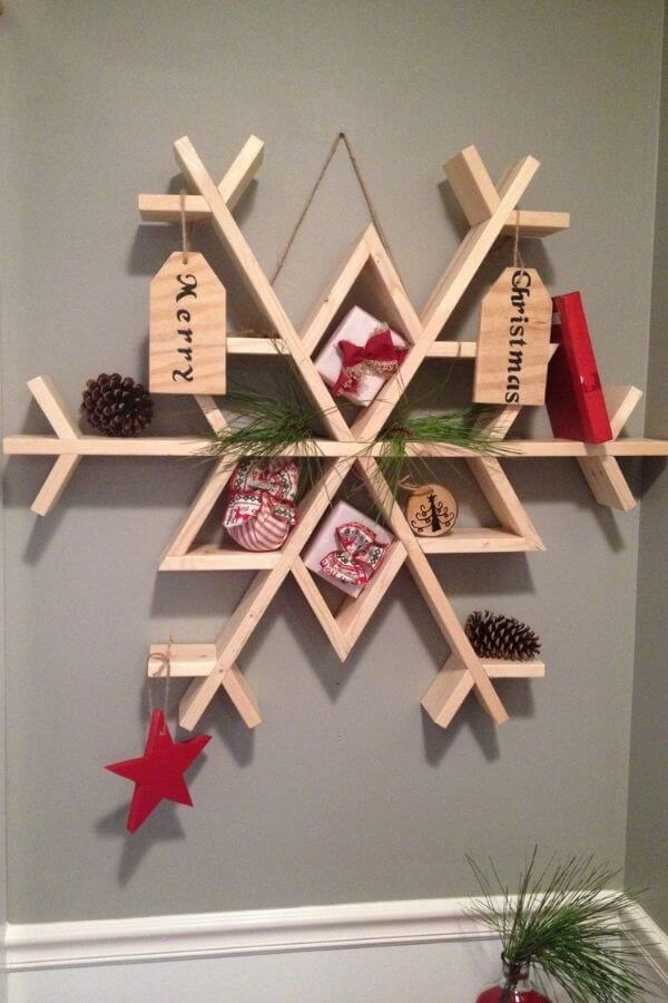 Snowflake Wall Shelf
