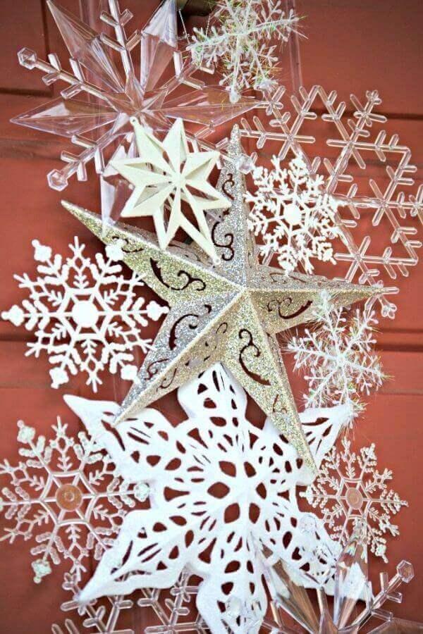 Snowflakes Door Hanger
