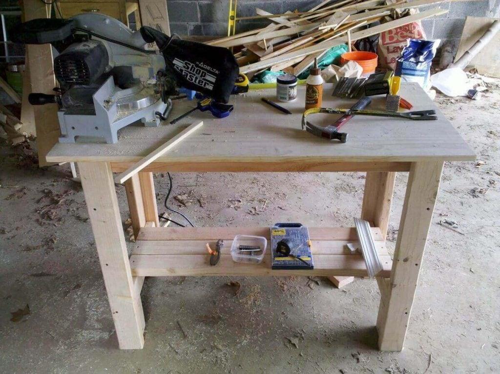 Sturdy Work Bench