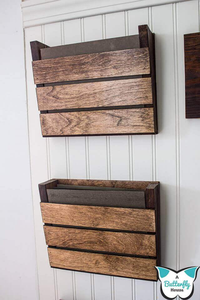 Simple Scrap Wood Wall Organizer