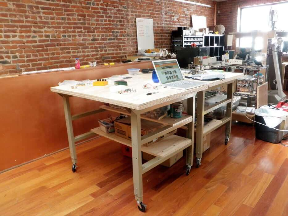 Twin Rolling Workbenches