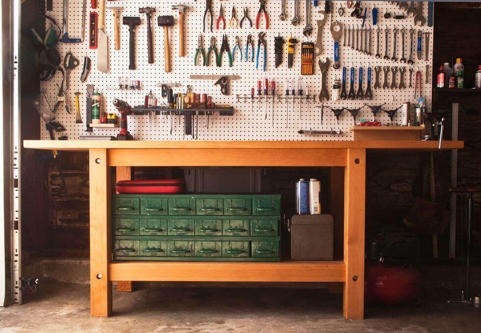 Ultimate Garage Workbench