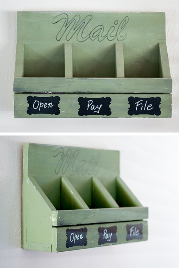 Wall Mail Organizer