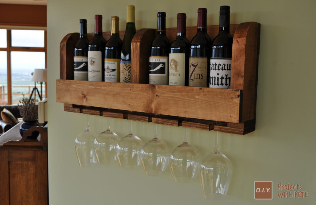 Wine Rack With DIY Pete