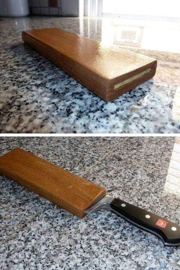 Wooden Sheath For Cook's Knife