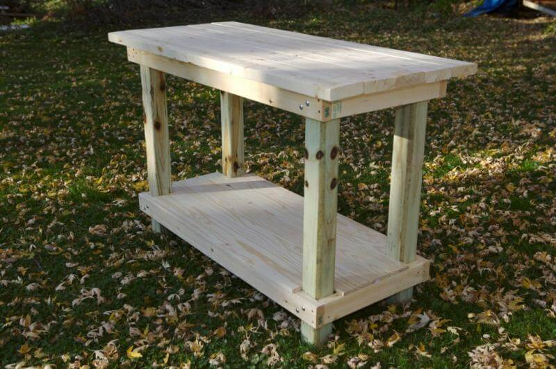 Workbench For Tall Guys