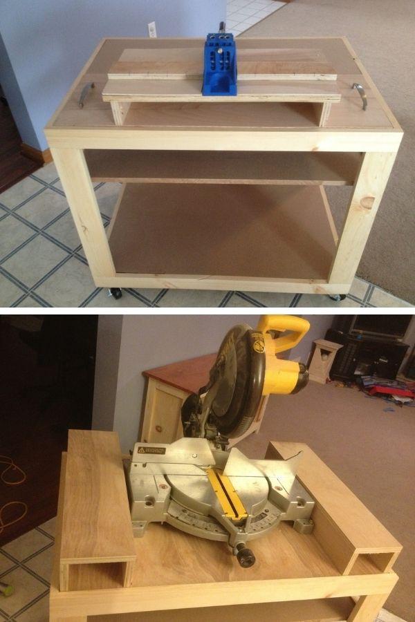Workbench With Versatile Inserts