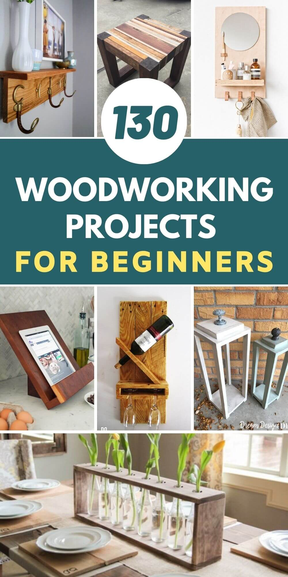 130 Best DIY Woodworking Projects For Beginners